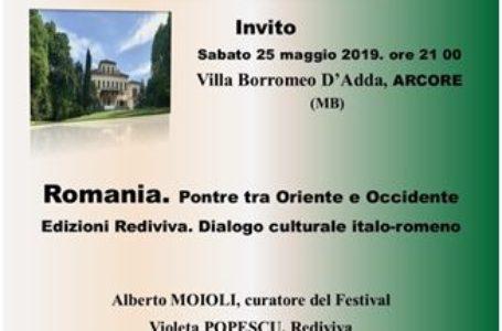 Prezență românească la Festivalul Culturii din Arcore (Italia)