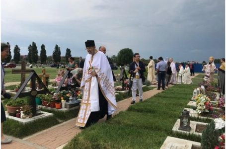La Torino a fost pusă piatra de temelie a bisericii din singurul cimitir ortodox român din Italia