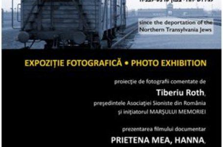75 de ani de la deportarea  la AUSCHWITZ a evreilor din Nordul Transilvaniei de către administrația Ungariei hortyste