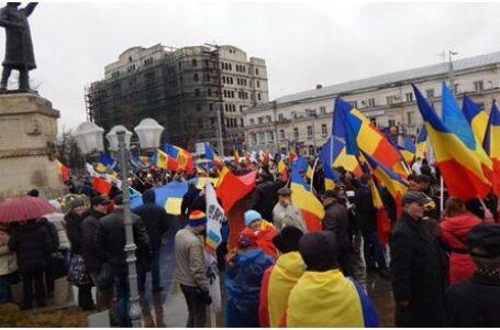 101 ani de la Marea Unire, sărbătoriți printr-un marș la Chișinău