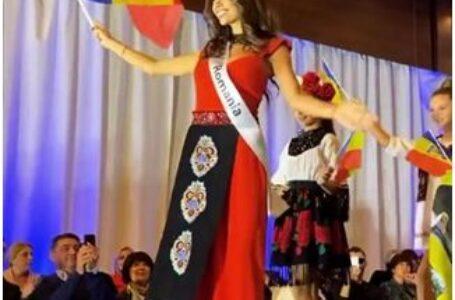 O româncă a câștigat Miss Planet 2019