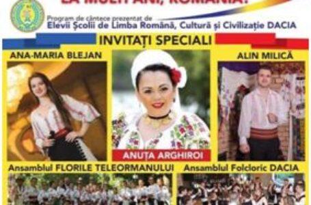 Evenimente dedicate Zilei Naționale a României organizat de românii din Atena