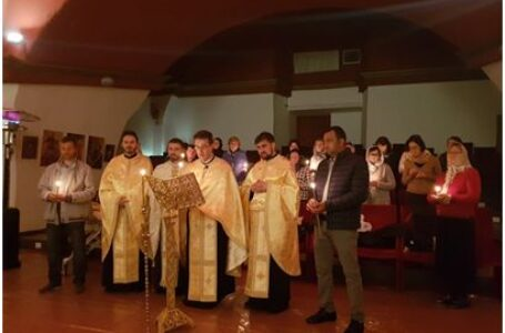 """Parohia """"Sfinţii Mucenici Ermil şi Stratonic"""" din Marino Laziale a sărbătorit un an de la înfiinţare"""