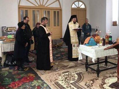 Episcopul Basarabiei de Sud, Preasfințitul Veniamin Goreanu, a slujit la Hagi Curda, în Sudul Basarabiei