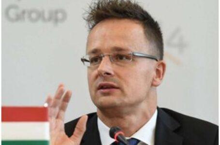 """Peter Szijjarto: Ungaria """"nu este pregătită să sacrifice interesele a 150 de mii de etnici maghiari"""" care trăiesc în vestul Ucrainei"""""""