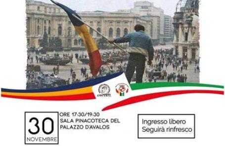 Ziua Națională a României sărbătorită la Vasto, eveniment dedicat aniversării a 30 de ani de la Revoluția română din 1989