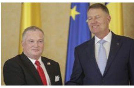 Adrian Zuckerman, noul Ambasador al SUA în România a înmânat scrisorile de acreditare Preşedintelui României Klaus Iohannis