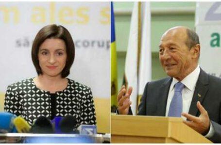 Traian Băsescu: Maia Sandu putea să evite situația actuală, dacă punea mai presus interesele naționale