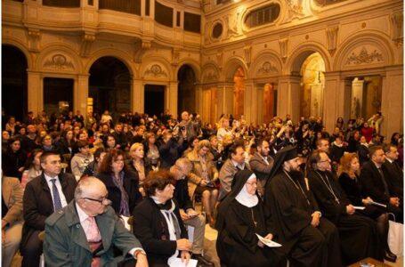 Concertul de colinde și cântece tradiționale de la Basilica Santa Cecilia din Roma cu prilejul prăznuirii Sfântului Apostol Andrei și al Zilei Naționale a României