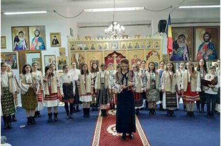 """Corul """"Symbol"""" al Patriarhiei Române a concertat în parohia """"Sfântul Dimitrie cel Nou"""" din Roma (Roma VIII)"""
