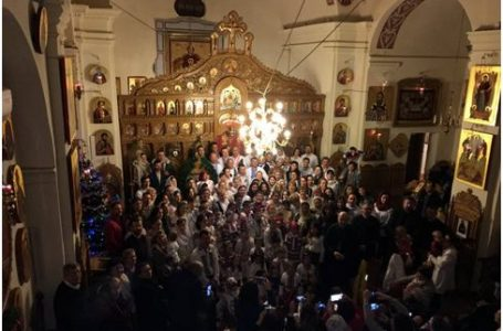 Colindul Sfânt și Bun  la Protopopiatul românesc Liguria din Genova