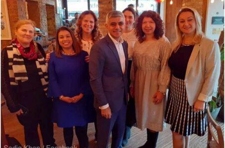 Romanian Women in the UK: Comunitatea românească şi contribuţia ei, apreciate de primarul Londrei, Sadiq Khan