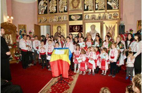 """Concertul de colinde """"Colindul Sfânt și Bun""""  de Ziua Națională la Protopopiatul Toscana"""