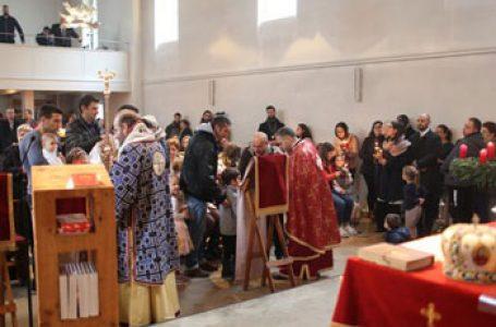 Slujba arhiereasca înainte de Crăciun în cea mai veche parohie românească din Bavaria