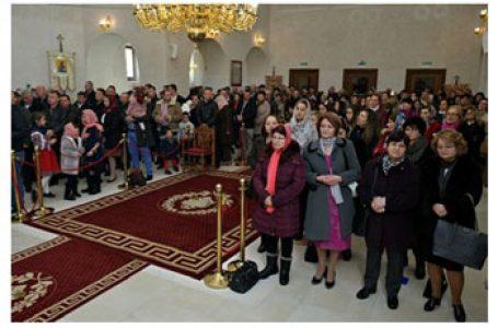 Românii din Madrid s-au rugat împreună cu Episcopul Timotei de Crăciun