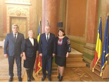 Delegația Consiliului raional Ungheni la a fost în vizită în Gorj