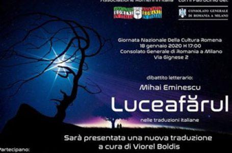 Ziua Culturii Naționale va sărbătorită de românii din Milano