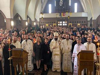 Românii din Bruxelles au o nouă biserică. Mitropolitul Iosif a sfințit noul lăcaș de cult
