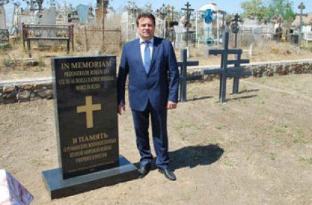 """Ambasadorul României în Rusia Vasile Soare: """"Douăsprezece monumente inaugurate în 2019 în memoria militarilor români morţi în lagărele NKVD"""""""