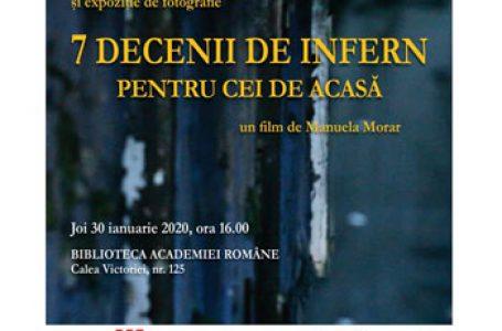 """""""7 DECENII DE INFERNˮ, un eveniment cultural dedicat rememorării celui de-al doilea val de deportări din Basarabia şi Bucovina, în Siberia"""