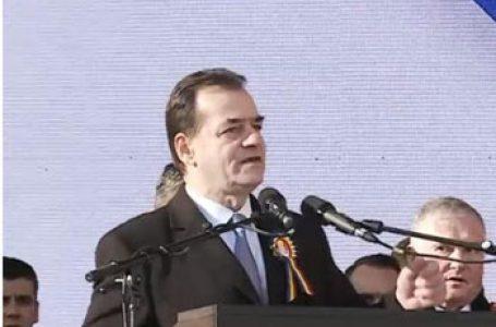 """Premierul Ludovic Orban la manifestările dedicate Unirii Principatelor Române: """"Nu trebuie să îi uităm niciodată pe fraţii noştri din Republica Moldova"""""""