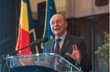 """Traian Băsescu: """"Nu există obiectiv mai mare acum pentru România decât reunificarea cu Republica Moldova"""""""