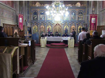 Ce s-a discutat la ședința Adunării eparhiale a Episcopiei Daciei Felix conform punctului de vedere al PS Siluan…Așa o fi fost?!