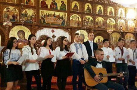 Eminescu și Creangă comemorați de tinerii români Nepsis din parohia Roma III