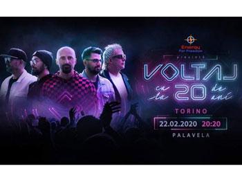 "Românii din Torino invitați la concert! Trupa ""Voltaj"" în concert la Torino"