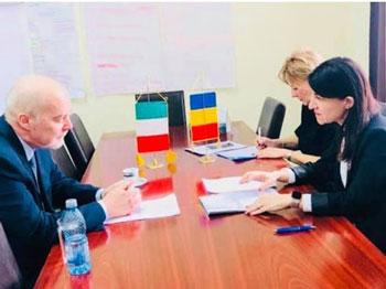Întâlnire între Violeta Alexandru şi ambasadorul Italiei la Bucureşti, pe tema pensiilor pentru românii care lucrează şi în străinătate