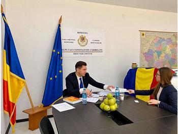 Subiecte-cheie în cadrul biroului de audiențe de la Chișinău al deputatului de la București, Constantin Codreanu