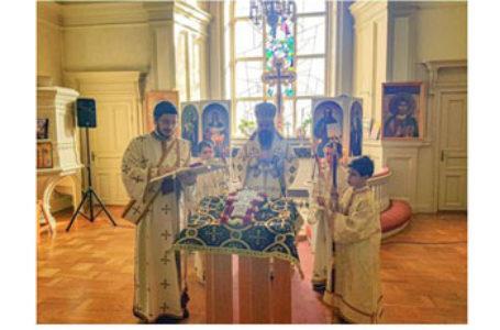 """PS Părinte Episcop Macarie în biserica parohiei ortodoxe române din Uppsala, Suedia.: """"Să înfruntăm creștinește aceste vremuri și aceste încercări!"""""""