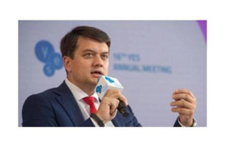 Legea privind funcționarea limbii ucrainene ca limbă de stat ar putea fi modificată – președintele Parlamentului de la Kiev