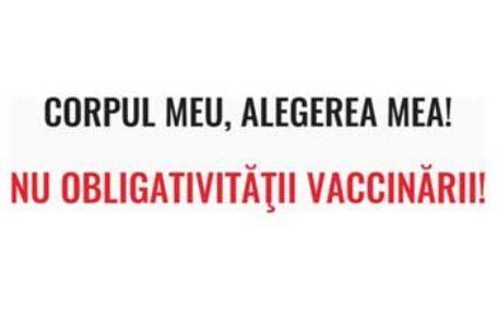 Platforma ÎMPREUNĂ: Memoriu contra obligativității vaccinării: Întreaga procedură denotă dispreț pentru societate și demonstrează că există la mijloc o comandă politică și/sau economică fermă