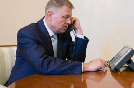 Klaus Iohannis a avut o discuție telefonică cu președintele Italiei pe fondul crizei COVID-19 și despre românii din peninsulă