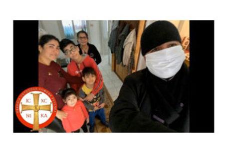 Voluntari din Parohia Pescara au parcurs peste 200 km pentru a-i ajuta pe românii aflați în dificultate