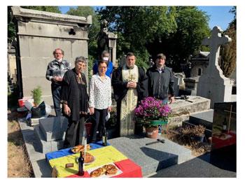 Comemorarea eroilor români la Paris