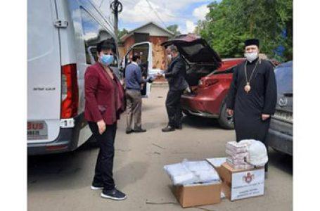 """Un nou ajutor UMANITAR oferit R. Moldova de către România. Ana Guțu: Am trecut Prutul… cu greu, dar am trecut"""""""