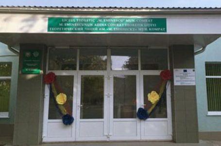 Autoritățile UTA Găgăuzia refuză să îi ofere sprijin în completarea banilor oferiți de România liceului românesc din Comrat. Semnează petiția pentru susținerea acestuia