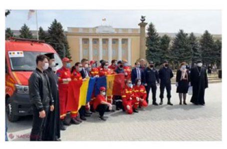 """Medicii din România, detașați la Cahul și-au încheiat misiunea cu brio: """"Ați venit la timp și ne-ați salvat… Am construit încă un pod peste Prut"""""""