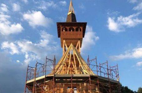 Continuă lucrările la biserica românească din Rieti. De Sânziene au fost sfințite crucile pentru acoperiș