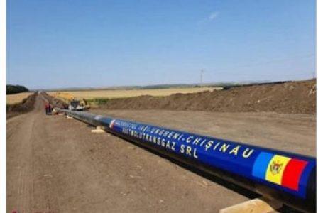 Chișinăul are variantă la gazul rusesc. Gazoductul Iași – Ungheni – Chișinău a fost finalizat!