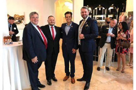 Întâlnire cu Congresmanul Matt Gaetz și conservatori din Florida – găzduită de familia Dragoș și Gabriela Sprînceană în locuința lor din Boca Raton. Dragoș Sprânceană: Nu dorim ca socialismul să câștige teren politic în SUA