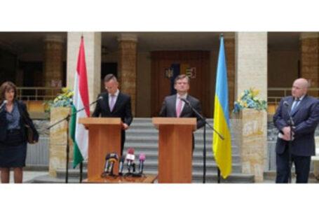 Diplomația maghiară, mult mai ferma decât diplomația românească, condiționează Kievul: Mai întâi să se rezolve problemele etnicilor maghiari din Transcarpatia, și apoi deblocăm comisia Ucraina-NATO