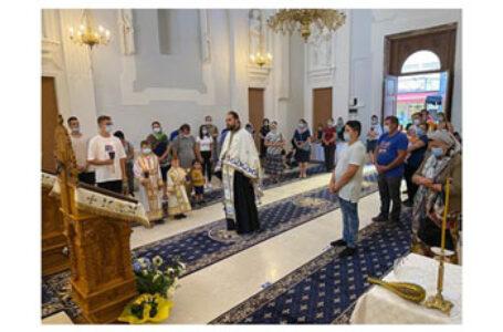Slujire în noua Biserică românească – Ferrara, din Italia