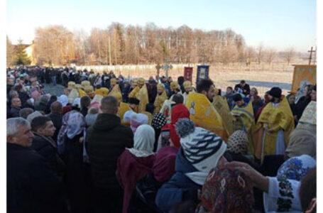 Eveniment religios de mare anvergură în localitatea românească Iordăneşti din regiunea Cernăuți