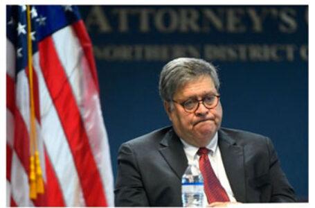 Secretarul american al Justiţiei, Bill Barr, dă undă verde la anchetarea fraudei din SUA!