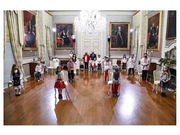 Colinde românești de Crăciun la Palatul Prezidențial al Republicii Malta