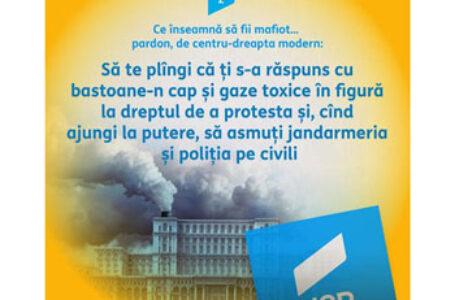 Senatorul Claudiu Târziu: Ce înseamnă să fii mafiot…Pardon, de centru dreapta modern