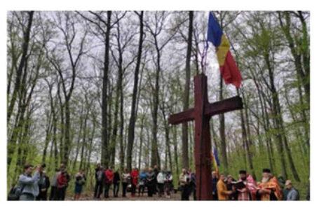 Maria Toacă: Destinul ne poartă să luăm Lumina Învierii de la Stejarul lui Ștefan cel Mare din Codrii Cosminului